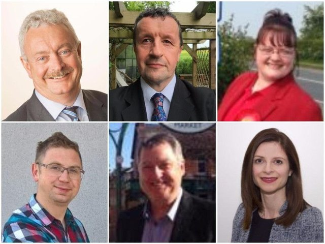 South Ribble candidates