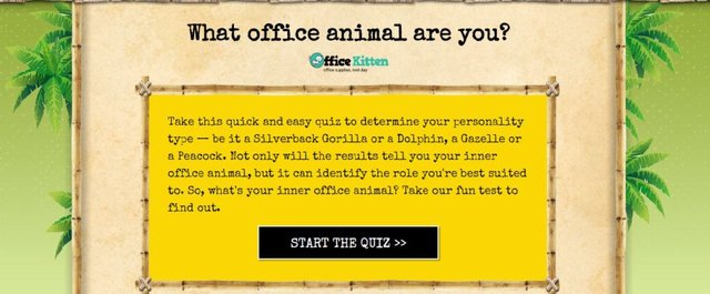 The office personality test