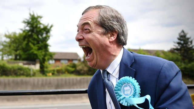 Farage: The Man Who Made Brexit follows Nigel Farage over five months in the build-up to the 2019 General Election (Getty Images)