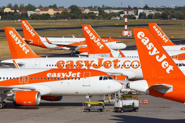 "CEO Johan Lundgren, said EasyJet was making ""small and carefully planned steps"" to restart its operations. (Credit: Shutterstock)"