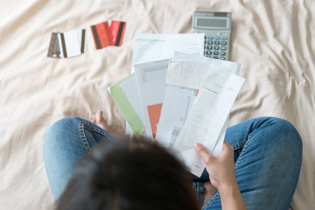 If you've found yourself having to take on debt to help get through lockdown, here are some tips on managing it (Photo: Shutterstock)