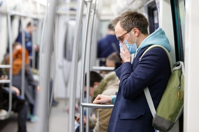 Face masks are compulsory on public transport in England from June 15. (Photo: Shutterstock)