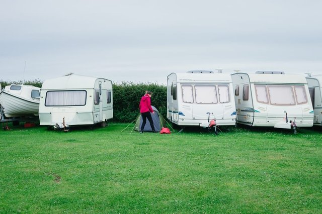 Caravan parks and campsites across the UK are preparing to re-open in early July. (Photo: Shutterstock)