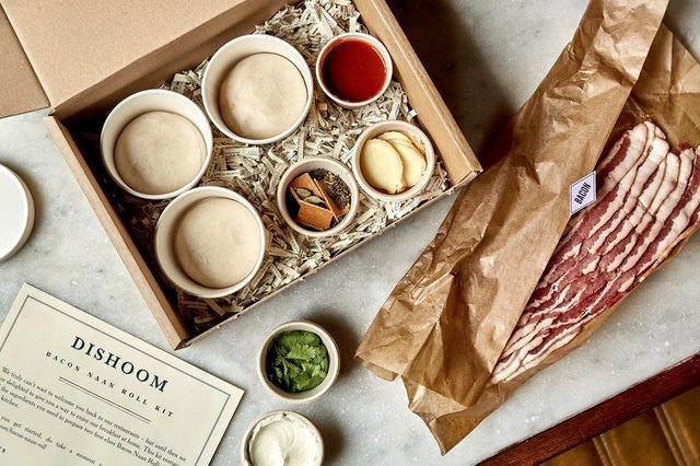 Treat yourself to a famous Dishoom bacon naan at home (Photo: Dishoom)