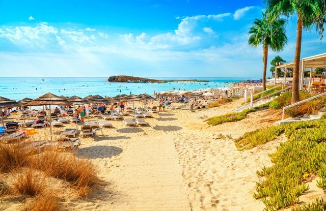 Many UK holidaymakers usually flock to Cyprus each summer, but popular destinations in the country - including the party resort of Ayia Napa - have seen a decline in international tourism so far this season (Photo: Shutterstock)