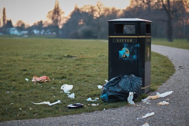 Littering has been a problem at the UK's beauty spots during lockdown (Photo: Shutterstock)