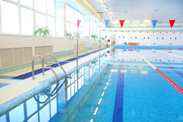 Indoor swimming pools will be allowed to reopen later this month. (Credit: Shutterstock)