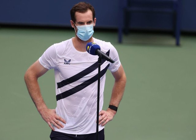 Andy Murray will face Felix Auger-Aliassime in front of an empty Arthur Ashe court (Getty Images)