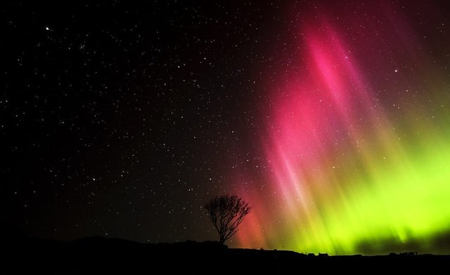 The Northern Lights could be more visible (Picture: Shutterstock)
