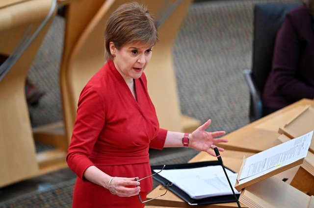 Watch Nicola Sturgeon reveal Scotland's lockdown exit plan live (Photo by Jeff J Mitchell/Getty Images)