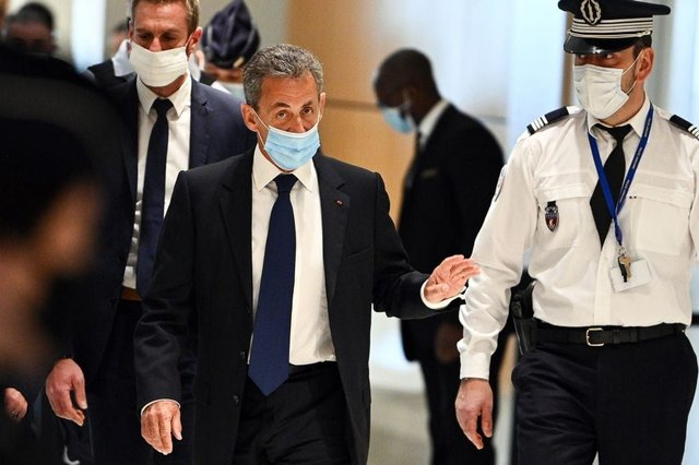 Sarkozy has been sentenced three years in prison, two of which are suspended (Photo: Getty Images)