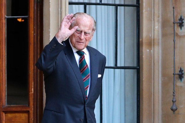 The prince died aged 99 today (April 9). (Photo: ADRIAN DENNIS/POOL/AFP via Getty Images)