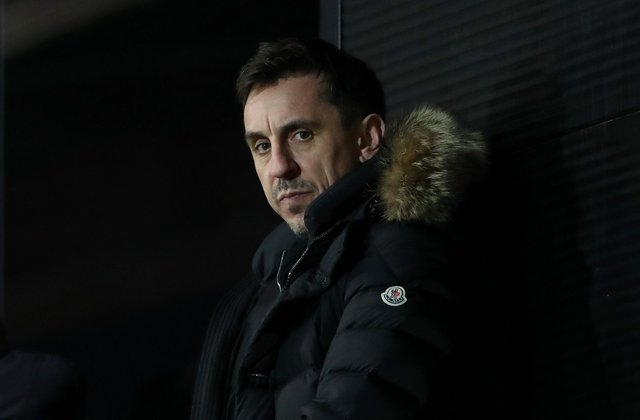 Gary Neville has condemned the plans for a European Super League (Photo by Alex Livesey/Getty Images)