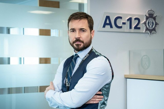 Martin Compston has said there won't be another series of Line of Duty ' just for the sake of doing it' (Photo: BBC)