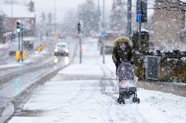 "The Met Office has warned no part of the UK will be ""immune"" from snowfall by Monday (Photo: Shutterstock)"