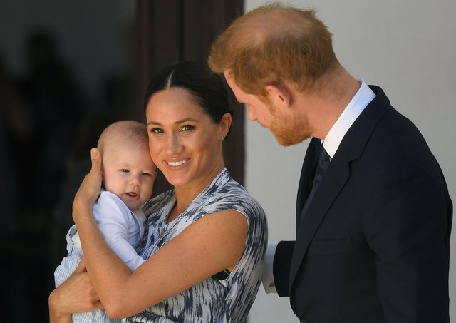 Prince Harry, Meghan and their baby son Archie (Photo by Toby Melville - Pool/Getty Images)