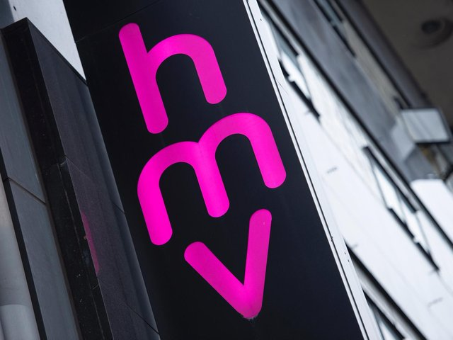 HMV (Photo by Niklas HALLE'N / AFP)