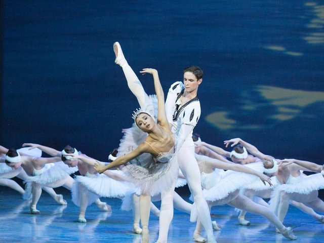 Swan Lake at Blackpool Grand Theatre on January 19