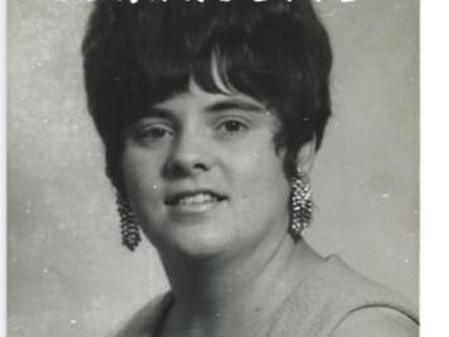 Bernadette Wilson in her younger years as a singer
