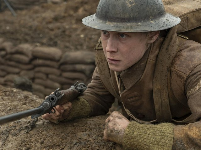 Now showing: 1917. Photo: PA Photo/Universal Pictures/DreamWorks Pictures/Storyteller Distribution Co., LLC/Francois Duhamel