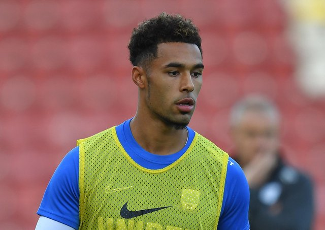 Andre Green is back at Deepdale on Saturday with Charlton, where he is on loan from Aston Villa