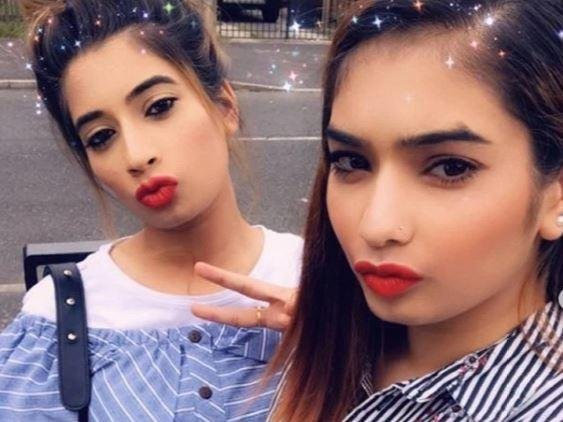 Maria (left) and Nadia Rehman (picture Instagram)