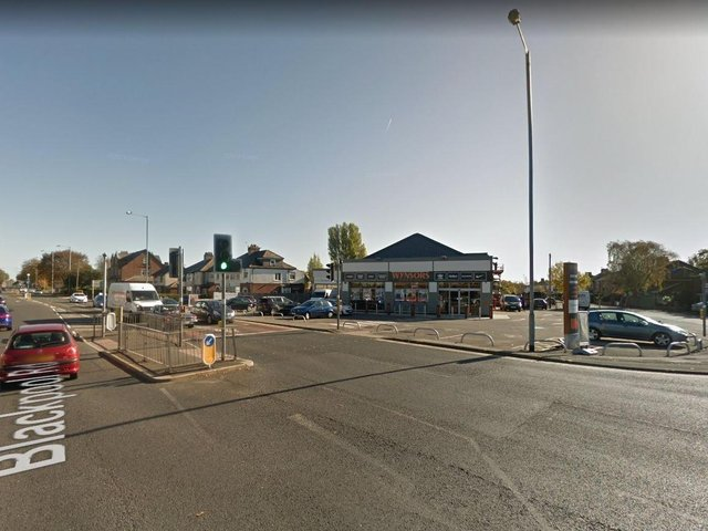 A woman with serious injuries has been taken to hospitalafter a crash on Blackpool Road near  Wynsors World of Shoes. (Credit: Google)