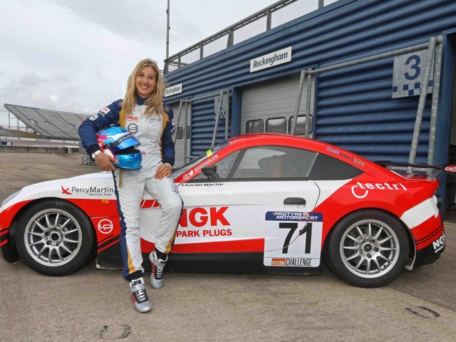 Trans racer Charlie Martin is heading to Preston