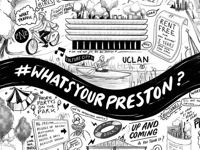 Partners join forces to launch a consultation on future possibilities for drawing investment in Preston and improving its cultural offering