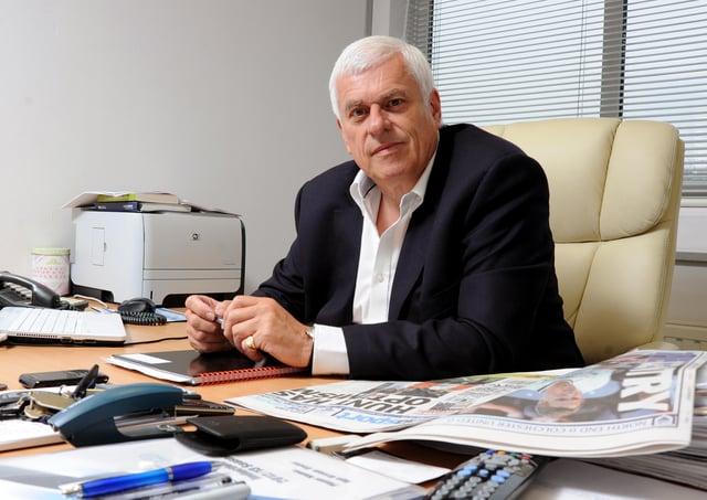 Peter Ridsdale, advisor to Preston North End owner Trevor Hemmings