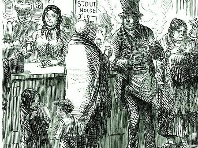 The Victorian ale houses had a poor reputation