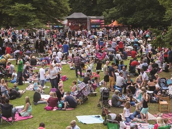A previous Picnic in the Park. This years event, due to take place in Astley Park, Chorley, in June, has been cancelled due to the coronavirus pandemic