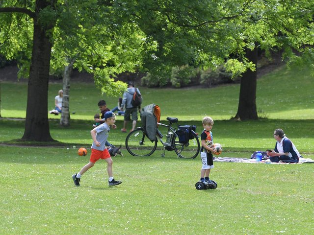 People enjoyed a day out at Avenham Park