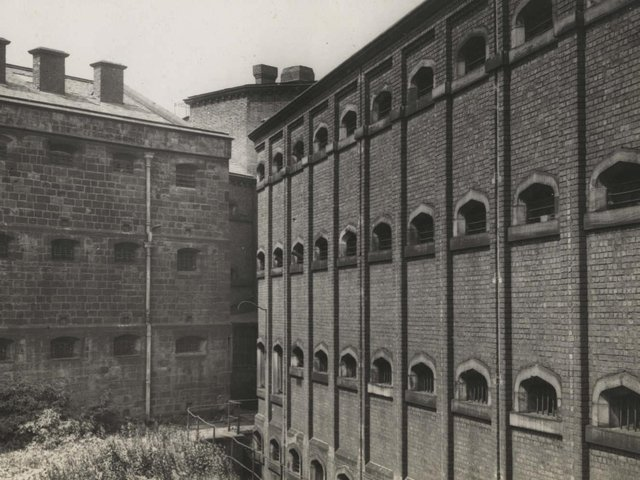 Preston Prison after its closure in 1938