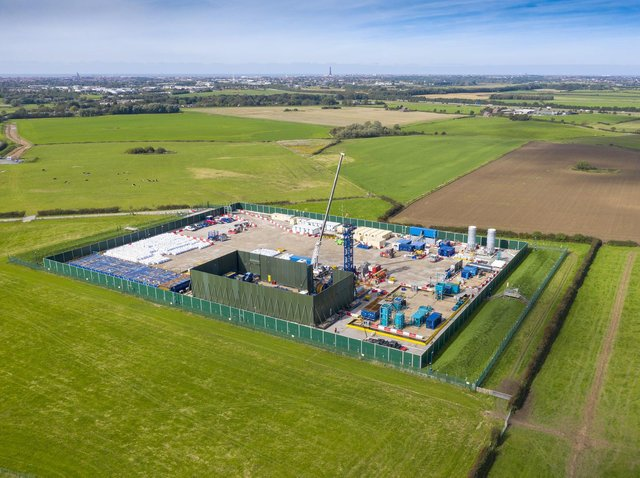 The Preston New Road fracking site