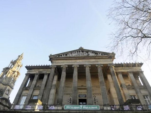 The Harris has looked down on Preston's Flag market for 125 years.