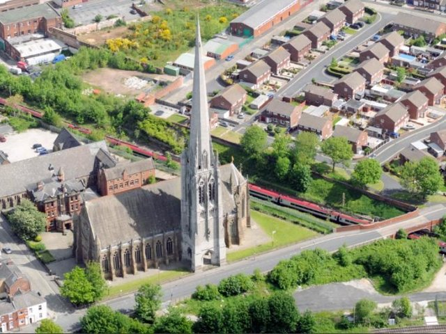 St Walburge's Church spire is the tallest of any parish church in the UK.