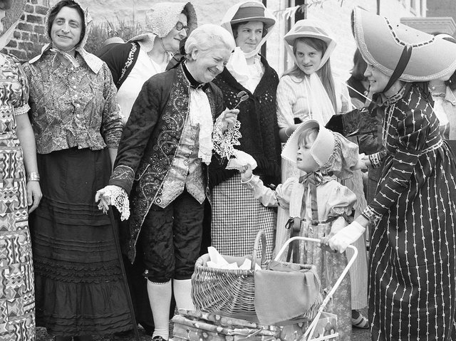 St Helens Churchtown period costume show