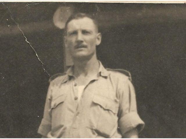 Edward Rozier in Bombay in 1942