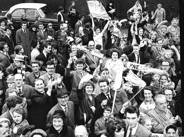 Fans like these ones pictured in 1967 are getting behind the team and buying season tickets in large numbers