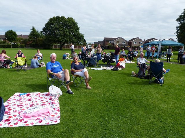 Friends of Conway Park's community picnic last year