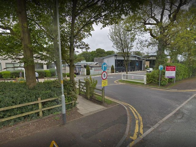 Runshaw College in Leyland has confirmed 3 cases of COVID-19 on campus, leading to a class of 18 students being sent home to self-isolate. Pic: Google