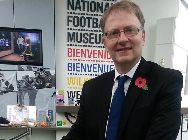 Dr Kevin Moore... UClan historian