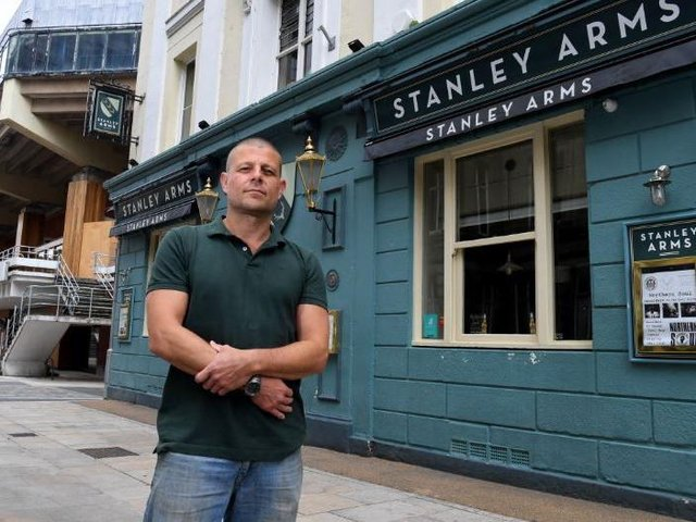 Paul, manager of Preston's Stanley Arms