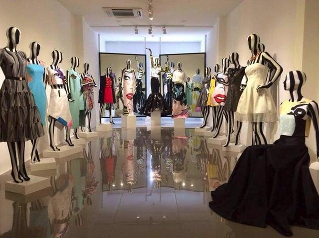 You can find unique pieces in boutique dress shops