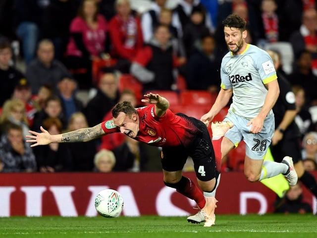 Manchester United player Phil Jones, from Preston