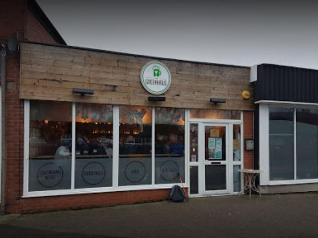 The GreenHaus bar on The Green, Eccleston
