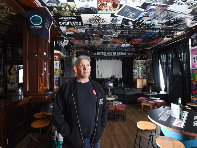 Ian Fletcher owner of the Waterloo Music Bar