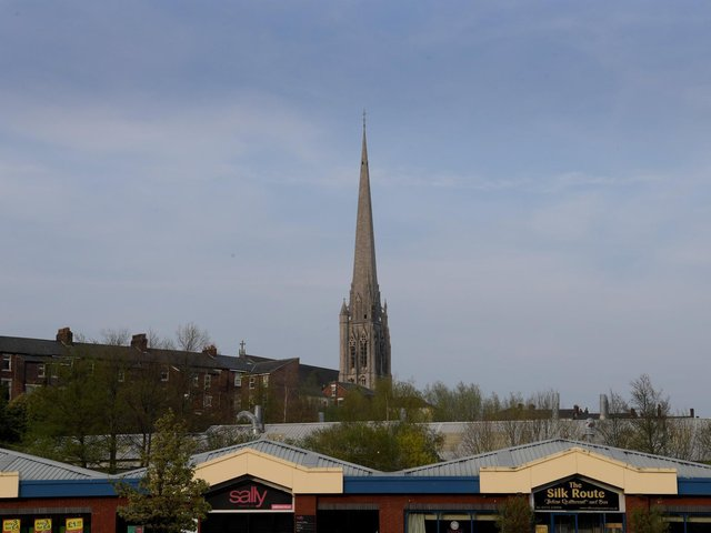 St Walburge's Church and its 314ft spire