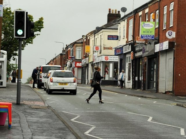Plungington has suffered from a number of crime issues in recent months, but there are no police officers carrying out foot patrols there